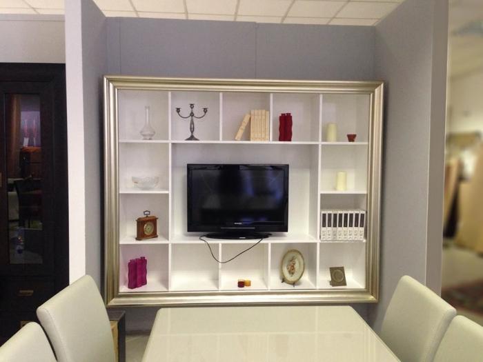 Cornice porta TV e libreria
